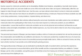 BLF Personal Injury Lawyer, Ajax